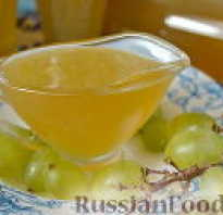 Как сделать виноградный сироп в домашних условиях