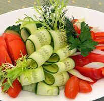 Как красиво нарезать овощи помидоры и огурцы