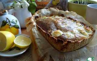 Пирог из цветной капусты в духовке рецепт