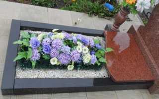 Какие цветы сажать на кладбище чтобы цвели все лето
