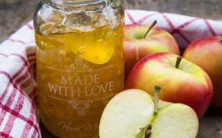 Джем из яблок на зиму с желатином
