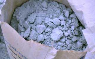 Цемент в мешке затвердел можно ли его использовать