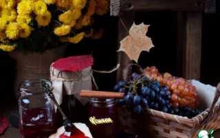 Желе из винограда изабелла на зиму рецепты