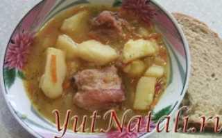 Соус с курицей и картошкой пошаговый рецепт
