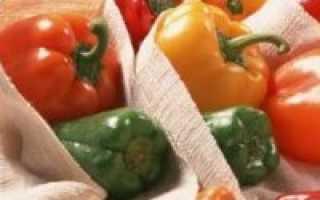 Как хранить перцы чтобы они покраснели