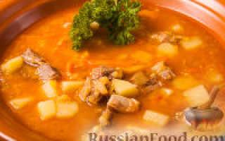 Как приготовить суп с чечевицей