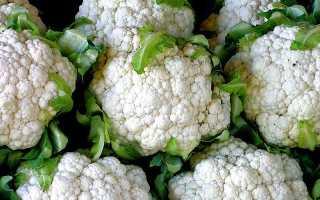 Сколько можно хранить в холодильнике цветную капусту
