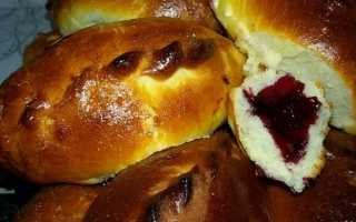 Начинка для пирожков в духовке из ягод