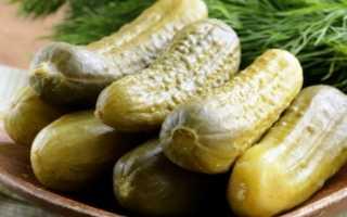 Соленые огурцы в кастрюле на зиму рецепты