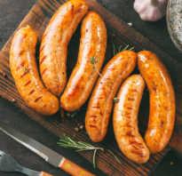 Как приготовить куриные колбаски на гриле