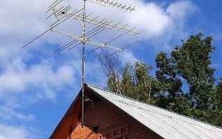Активная антенна для цифрового тв на дачу