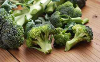 Как приготовить замороженную брокколи на сковороде