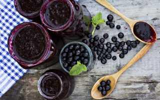 Паста из черной смородины рецепт на зиму