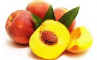 Можно заморозить персики на зиму