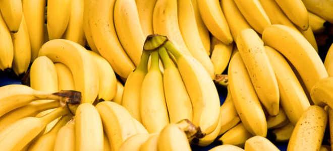 Можно ли при панкреатите есть бананы в сыром виде