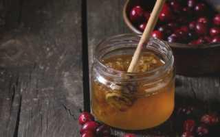 Клюква с чесноком и медом для иммунитета