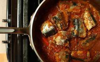 Консерва з риби в томаті в домашніх умовах