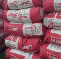 Как зимой сохранить цемент