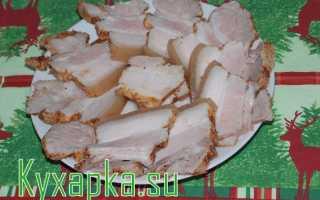 Как засолить прослойку из свинины