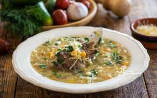 Как приготовить суп из макарон