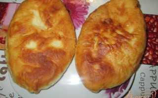 Пирожки из картошки на сковороде с фаршем