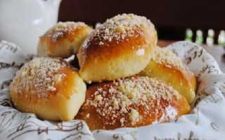 Духовые пирожки как пух с вишней