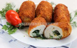 Котлеты по киевски рецепт из фарша свинины