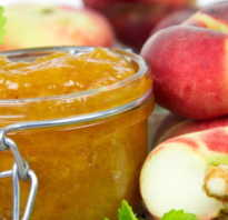 Варенье из персиков с имбирем и лимоном