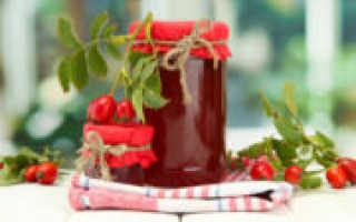 Как приготовить в домашних условиях сироп из шиповника