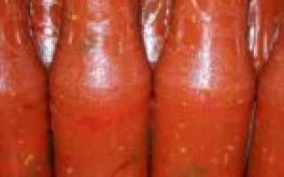 Рецепт перец горький в томате на зиму