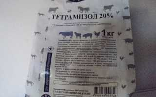 Как разводить тетрамизол для кур