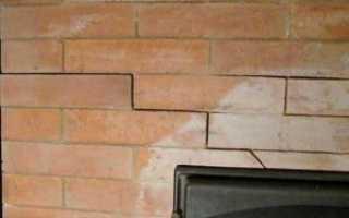 Чем заделать трещины в печи на даче