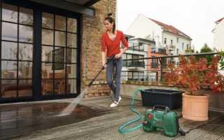 Мини керхер для мытья машины из ведра
