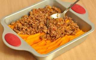 Что можно приготовить из тыквы с мясом