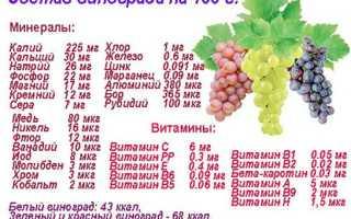 Сколько можно съедать винограда в день
