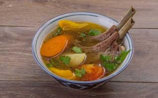 Суп из баранины как называется