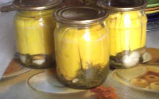 Салат из кабачков на зиму с корицей