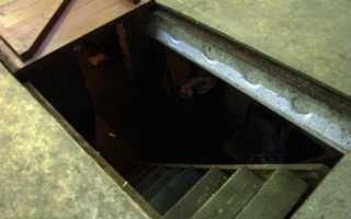 Как утеплить погреб в гараже