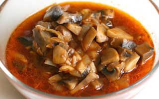 Заготовки на зиму грибы в томатном соусе