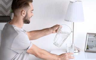 Можно ли пить ночью воду