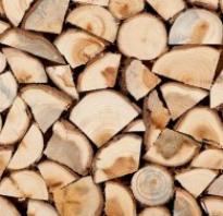Как просушить дрова на даче