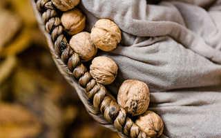 Сколько можно хранить грецкие орехи в скорлупе