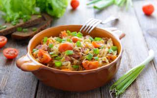 Как вкусно приготовить жареную капусту белокочанную