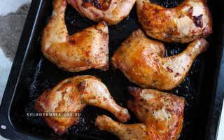 Как вкусно пожарить окорочка в духовке